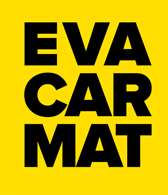 EvaCarMat - an innovative material based on foamed rubber. Lightweight and water resistant, it is ideal for making mat for car or boat with unique characteristics. Products made from it are distinguished by their strength, durability and utmost practicality.